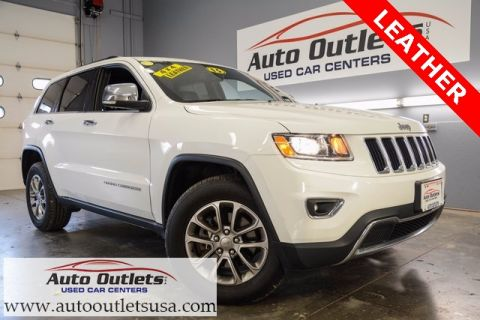 Pre-Owned 2015 Jeep Grand Cherokee Limited With Navigation & 4WD