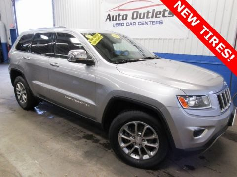 Pre-Owned 2014 Jeep Grand Cherokee Limited With Navigation & 4WD