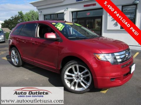 Pre-Owned 2010 Ford Edge Sport AWD