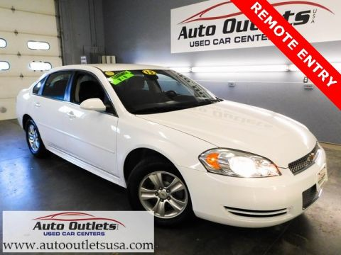 Pre-Owned 2013 Chevrolet Impala LS FWD 4D Sedan