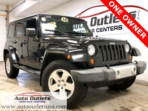Pre-Owned 2010 Jeep Wrangler Unlimited Sahara