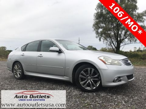 Pre-Owned 2008 INFINITI M35 Base